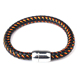 2018 Fashion Braided PU Leather Bracelets for Men Bangle Mix Color Rope Bracelet Fashion Men Jewelry