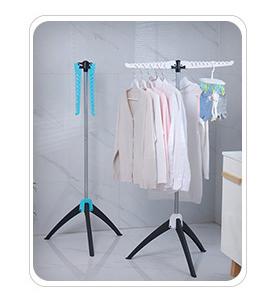 La migliore Vendita di Prodotti Per La Casa di Stoccaggio Rack Pieghevole Magia Creativa Vestiti Cremagliera Creativa Multifunzionale di Plastica Nove-foro Gancio