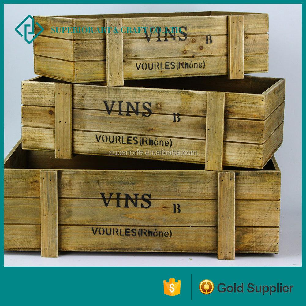 fournitures d 39 ameublement tiroir stockage bacs pas cher en bois vin caisses pour vente bo tes. Black Bedroom Furniture Sets. Home Design Ideas