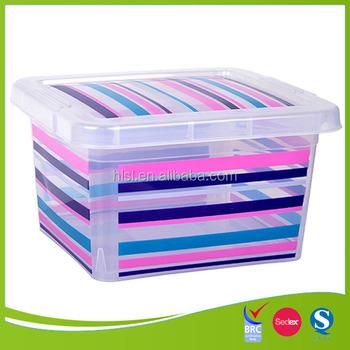 iml plastic decorative storage boxes