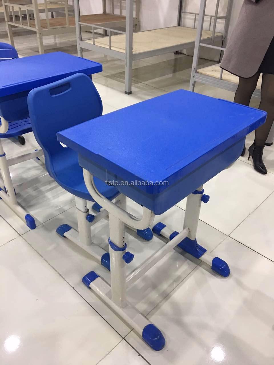 Fixed Single School Desk And Chair School Furniture Plastic Table And Chair Buy Plastic School