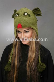 959d1a26e1a Knit Dragon Hat - Buy Knitted Wool Animal Hats Product on Alibaba.com