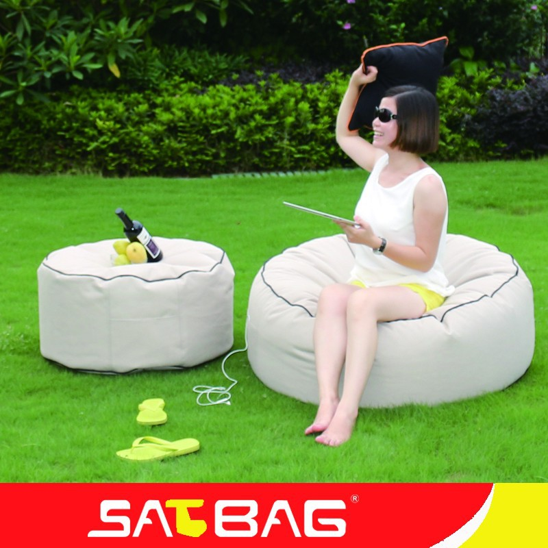 Waterproof Round Bean Bag Bed Wholesale Suppliers
