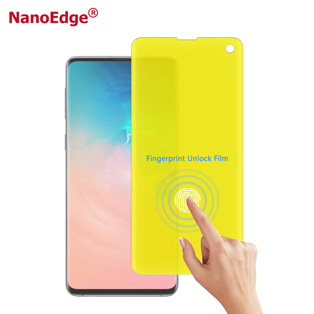 Smartphone Anti Scratch-Screen Protector Anti Blase Hohe Klar Schutz Film Für Samsung Galaxy S10/S8/S9 Bildschirm film