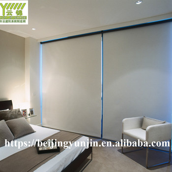 Good price motorized waterproof roller blinds with blackout fabric