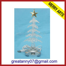 2014 wholesale new style magic christmas tree artificial christmas tree snowing