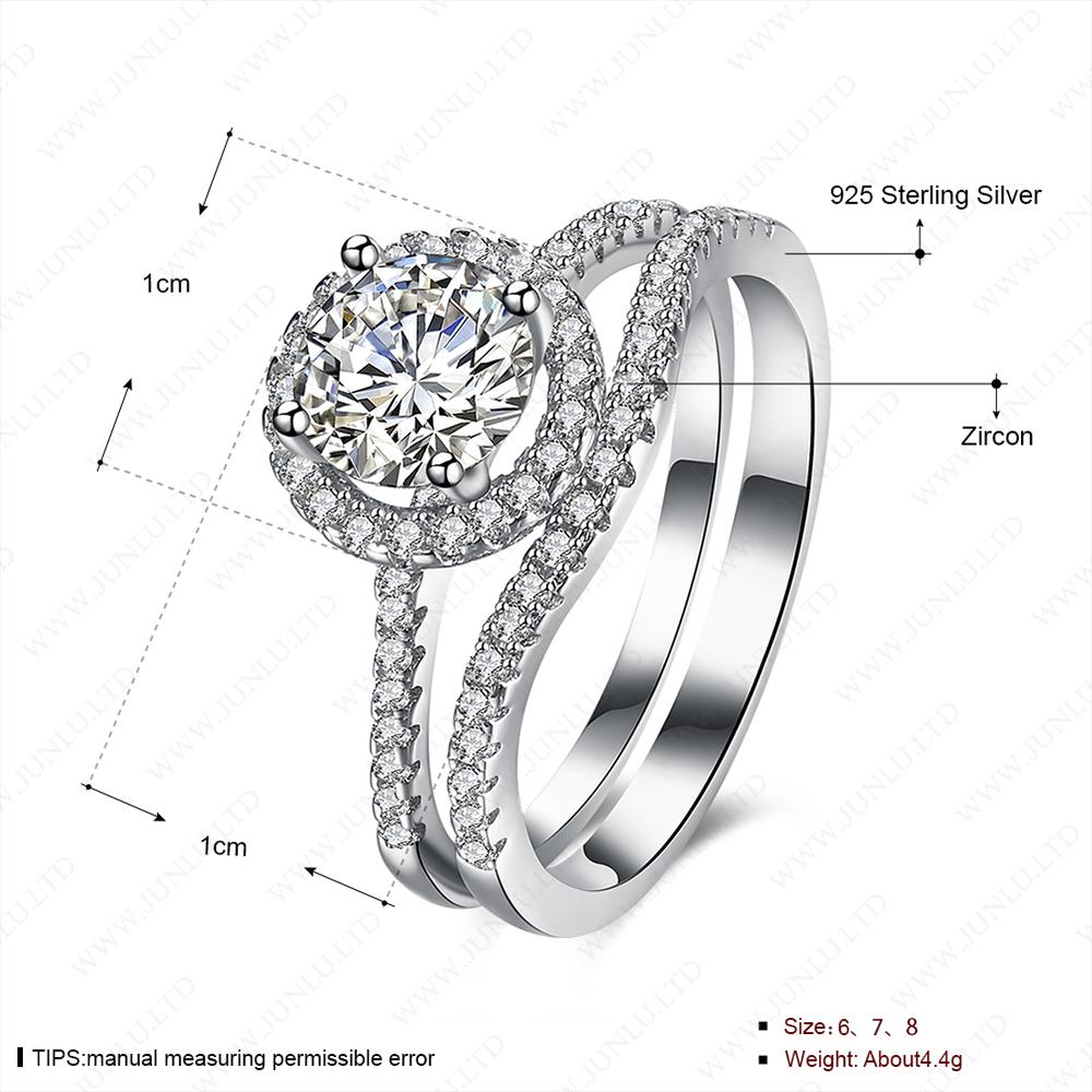 Women Rings Wedding Sterns Catalog 925 Sterling Silver