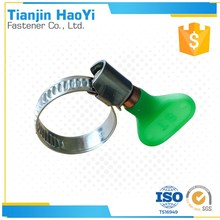Range Plastic Key Grip Worm Drive Hose Clip Tube Clamp