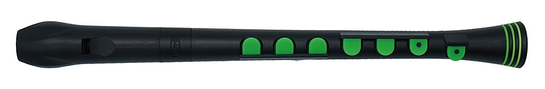 Nuvo Recorder; N320RDBGR; Recorder +; Black/Green; Key of C