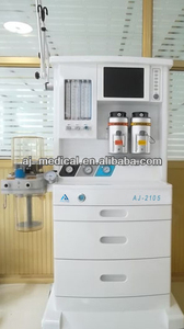 surgical anesthesia machine vaporizer surgical instrument with Ventilator (2 Vaporizers,3 Gas) AJ-2105