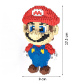 1750 PCS Super Mario Toy Figure 9 17 5 cm Big Size Model Building Blocks
