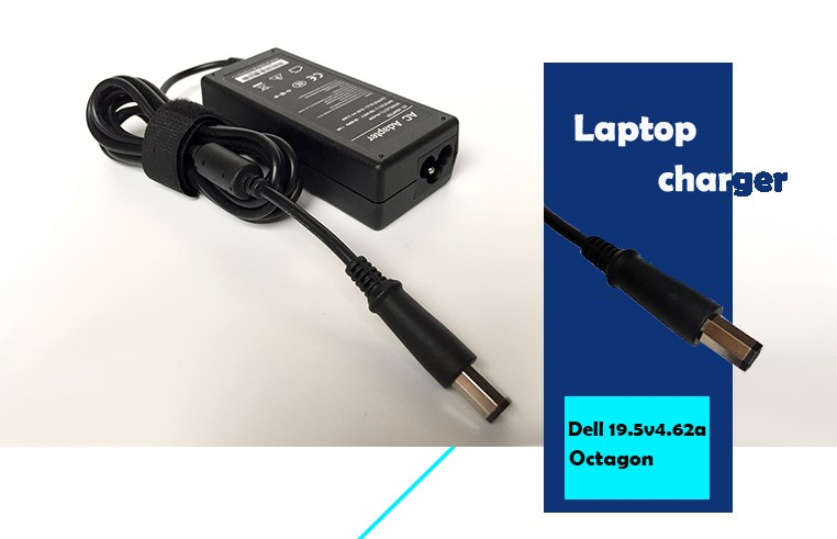 wholesale laptop charger for DELL Universal 19.5V 4.62A 90W with octagon connector XK850YR733