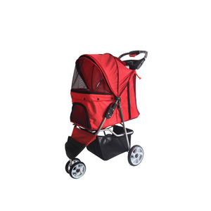 Three Wheels Pet Stroller/Fashionable Pet Trolley/Pet Travel Stroller