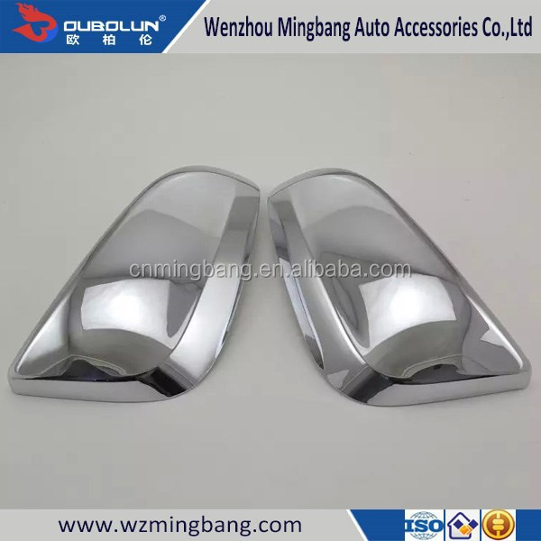 manufacturer ABS Chrome/stainless steel Car Rear View Mirror Cover for Toyota 14RAV4