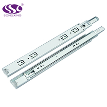 3-Fold Steel Ball Bearing Slide desk drawer glides