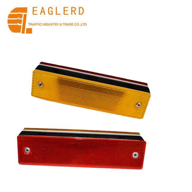 Double sides reflector guardrail reflective delineator for road safety