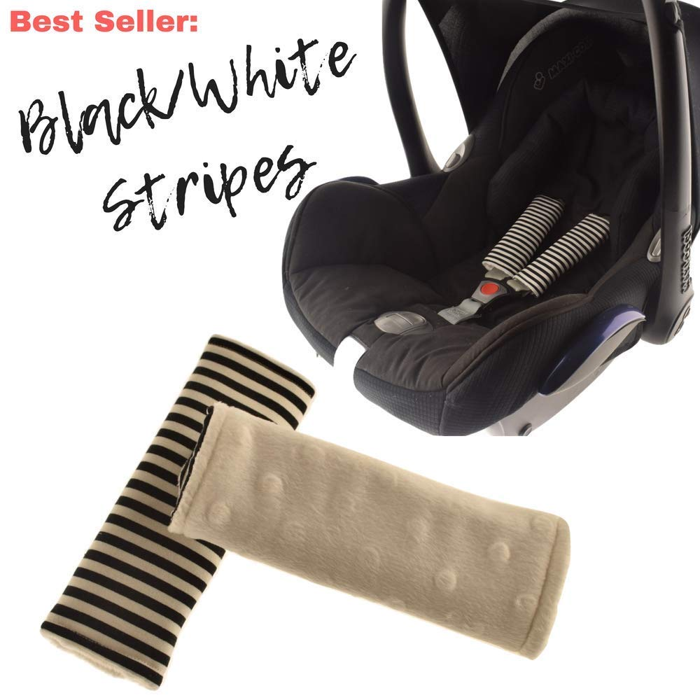 Stroller Strap Covers,Car Seat Strap Covers,Stroller Strap Pads,Car Seat Harness Pads, Seat Belt Covers
