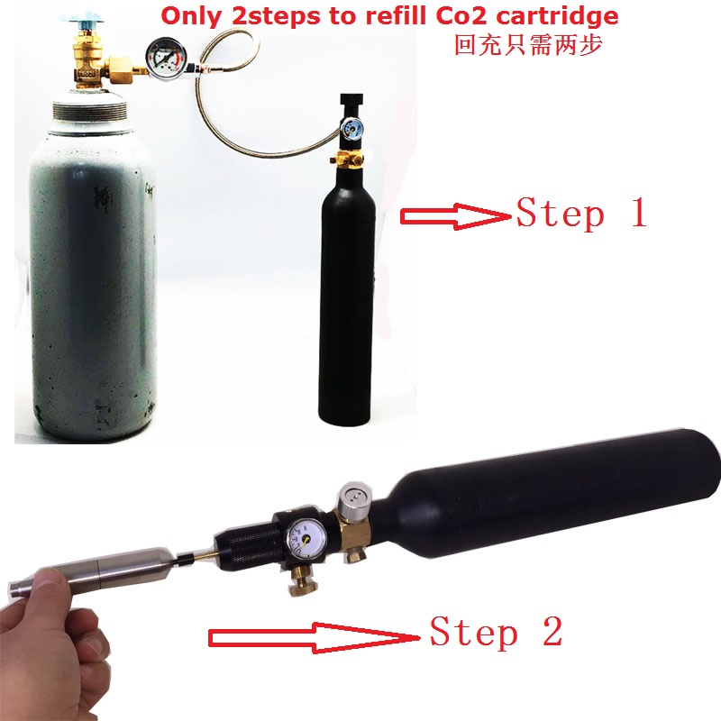 New Paintball Tank Co2 Filling Station With High Pressure Hose Co2 Tank  Refill System - Buy Paintball Tank Refill Hose,Co2 Tank Refill Adapter,Co2