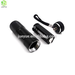 395nm 9LED power multifunction torch electric torch high power torch