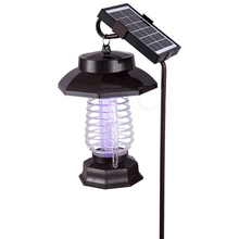 Top sell garden outdoor solar lamp mosquito killer with led , fly insect repellent mosquito bugs killing lamp cheap sell