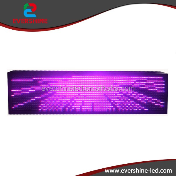 P13.33mm smd0606 rgb led running text