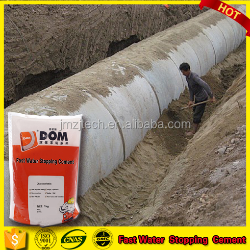 Fast water stopping cement Quick Dry Crystallized Waterproofing Cement for Crack