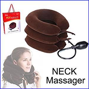 Constructan(TM) Cervical Vertebra Tractor Massager Nap Pillow Traction Massage Pillow Relief Neck Back Shoulder Pain