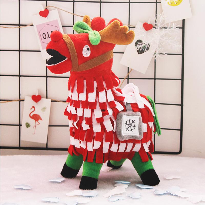 Christmas Llama.Newest Amazing Design Promotion Alpaca Stuffed Plush Toys Christmas Llama For Christmas Gift Buy Plush Toy Plush Stuffed Toy Christmas Gift Product
