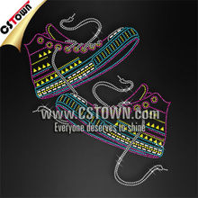 New trend neon color sneakers hotfix heat transfer
