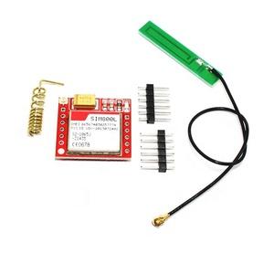 Mini Smallest SIM800L GPRS GSM Module MicroSIM Card Core Wireless Board  Quad-band TTL Serial Port With Antenna