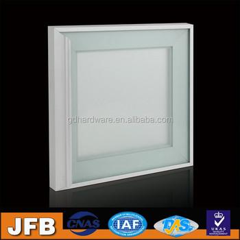 Interior Environment Sleek Aluminum Framed Glass Door With