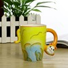 Promotional cute animal designs 3d ceramic coffee mug,Customized 11oz ceramic mug with Logo