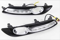 HOT SALE !!!Free shipping LED DRL Daytime Running Light For Sentra