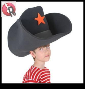 943af378 Cowboy Hats Crazy Super Size Cowboy Hat Funny Party Hats - Buy ...