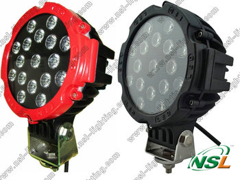 IP67 waterproof 51w led work lights C REE led lighting for boats
