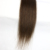 LM dark brown flat tip human hair extensions 100 percent silky straight indian remy human hair