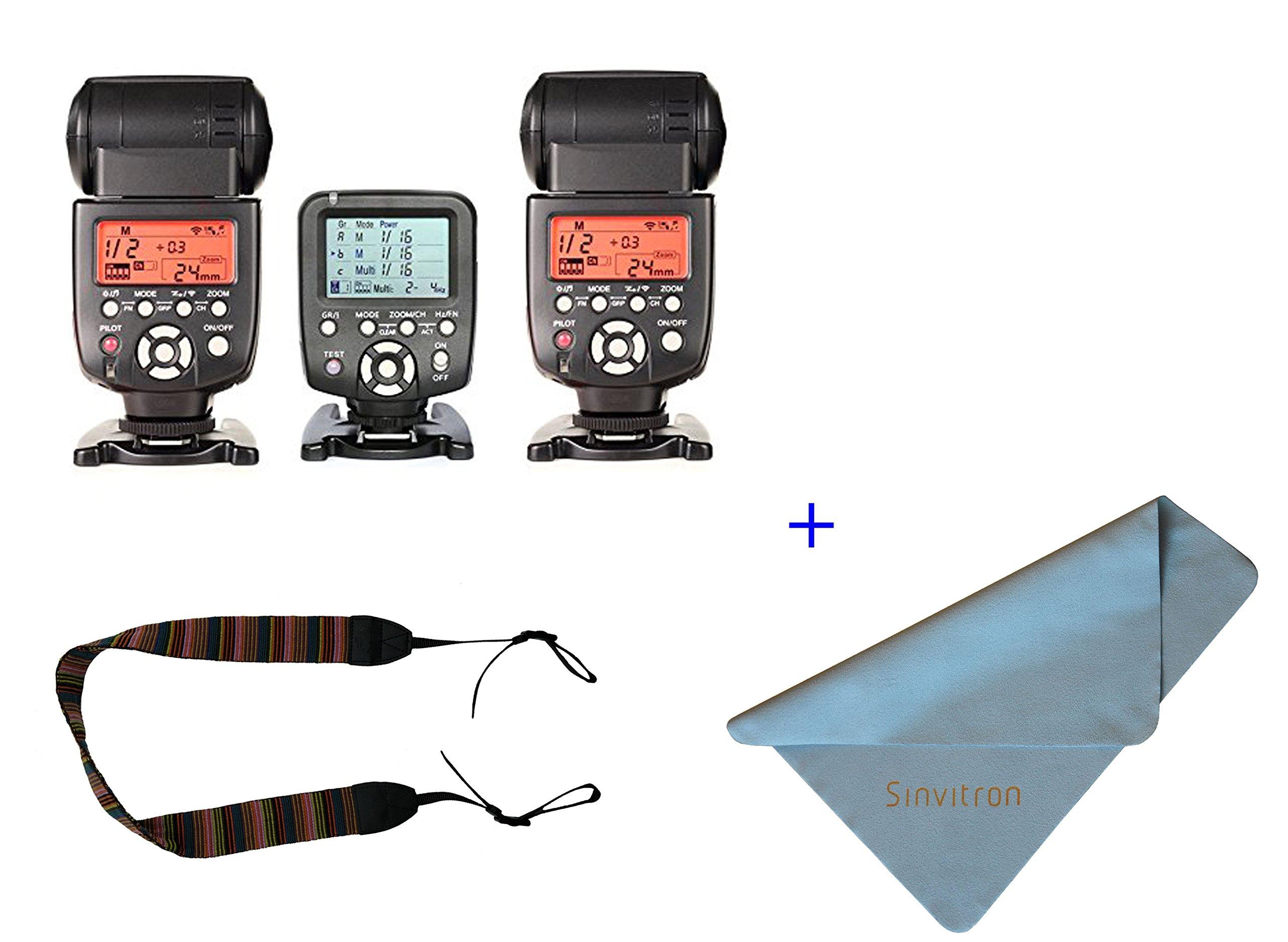 Yongnuo YN560-TX LCD Wireless Manual Flash Controller + 2pcs YN-560 III Manual Flash Speedlite Light For for Nikon D7200 D7100 D7000 D5100 D90 D5200 D5000 D3000 D3200 D3100 D610 D800 D700 D300 D300S