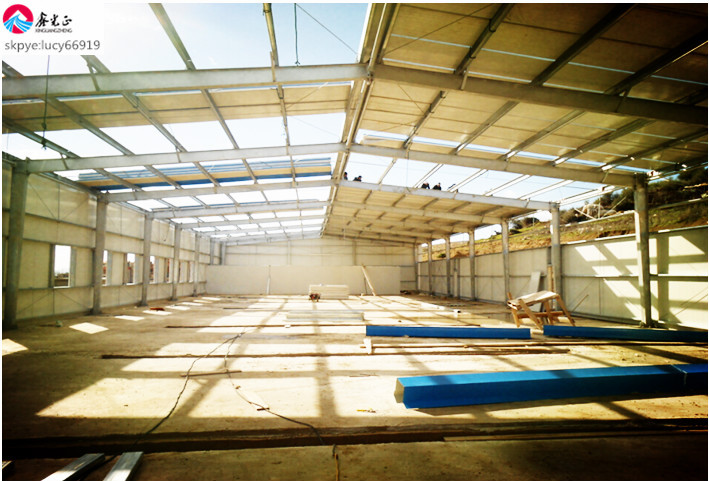 china best price readymade steel structures for workshop