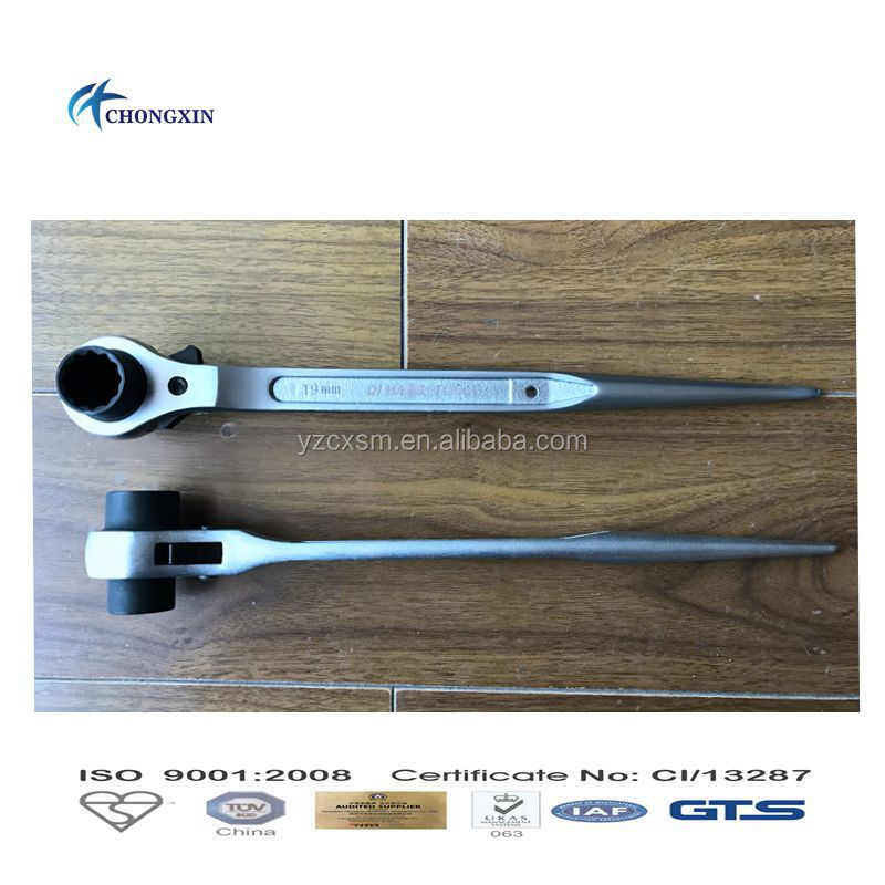 Adjustable Ratchet Spanner / Wrenches for scaffolding