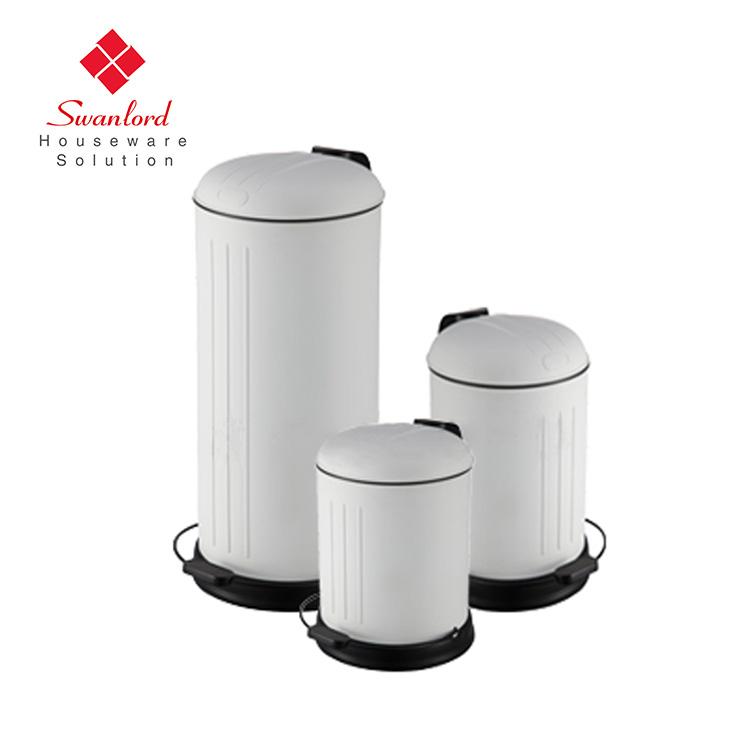 Bekend Retro Pedaal Bin 12 Liter,Afvalbak Prullenbak Vuilnis Vuilnisbak YU07