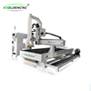 ATC vacuum table rotary axis sculpture 1325 manual jinan wood working cnc router machine