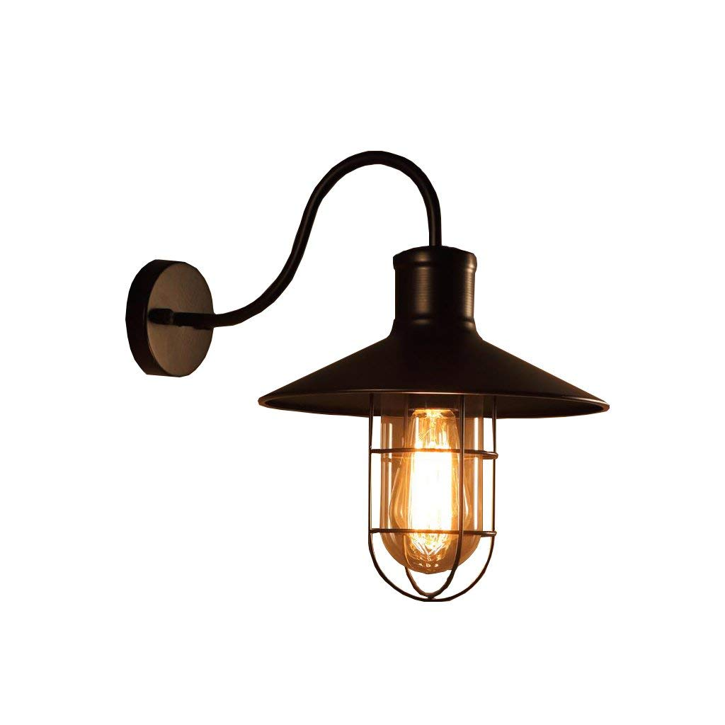 Lights & Lighting Ceiling Lights & Fans Antique Retro European Black Industrial Swing Arm Ceiling E27 Wall Lamp Lighting For Bar Coffee Shop Restaurant Living Room Easy To Lubricate