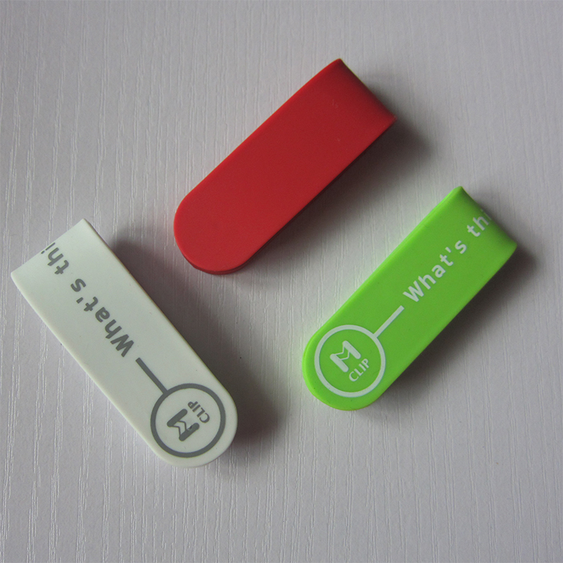 Custom Printed Silicone Magnetic Multi purpose <strong>Clip</strong>