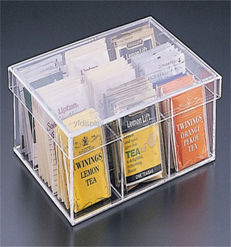 Acrylic Material Ted Bag Storage Box With Lid