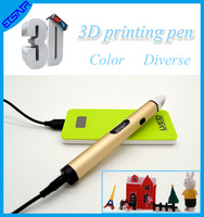 OEM ODM New Art & craft Maker 3D Printing Pen Digital 3D Drawing Pen 3D Pen with Free Filaments