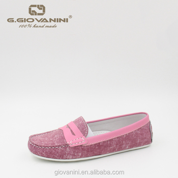 bd3a4542f0a0b Pink Patent Leather Handmade Stitching Women Casual Boat Shoes - Buy Casual  Boat Shoes,Italian Ladies Shoes,Genuine Leather Shoes Product on ...