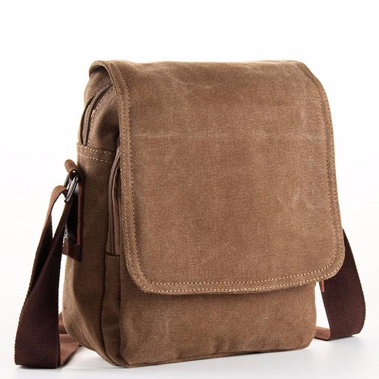 6c31842269f5 Vintage military men satchel blank canvas shoulder messenger bags wholesale
