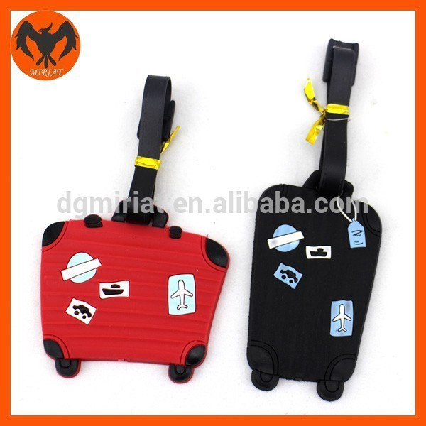 Unique Custom Surprise Toy Personalized PVC Luggage Tag