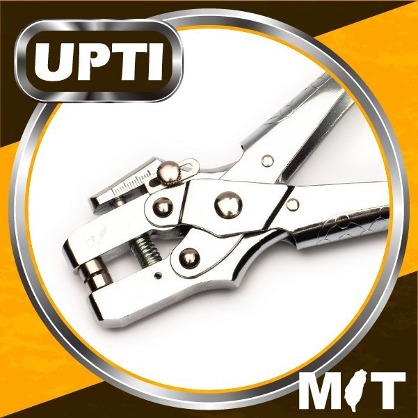 "Taiwan Made DIY Adjustable Hole Punch Plier Heavy Duty 3/16"" Grommet Pliers & Hole Puncher Grommets Range Press Tool"