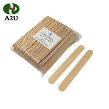 Disposable makeup birch wooden wax spatula/tongue depressor